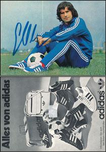 Müller, Gerd, 1975, Adidas 'Alles von Adidas', ohne Druck-AG