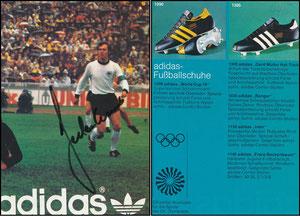 Beckenbauer, 1972, Adidas, XX. Sommerspiele