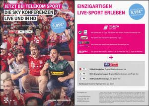 Telekom, 2018, Flyer 'Conrad', A5