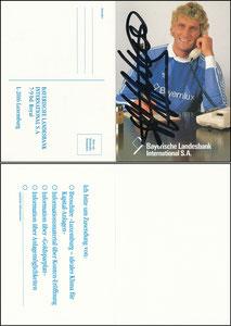 Pfaff, 1986, Bayerische Landesbank, Klappkarte