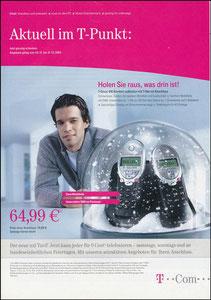 Ballack, 2004, T-Com, Werbefolder A4
