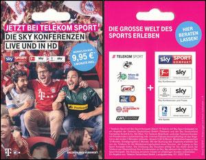 Telekom, 2018, Regalhänger, Kleinkarte