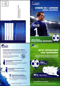 Neuer, 2016, Head&Shoulders, Klappkarte 2