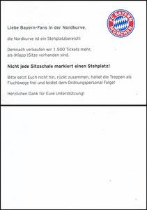 Allianz Arena, 2017, Stehplatz