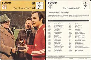 'Der Goldene Ball', USA, 1977, 03005 11-18