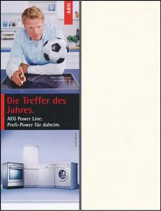 Kahn, 2002, AEG 'Power Line', Aufkleber