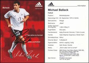 Ballack, 2002, Adidas Karstadt