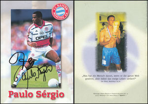 Sergio, 1999, Marburger Medien, mit Druck-AG, Klappkarte