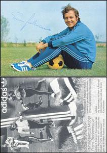 Beckenbauer, 1972, Adidas '3-Streifen-Trainingsanzug', dicke Version