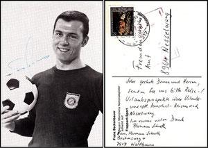 Beckenbauer, 1967, Frappant-Sport, Dank an SF Sven