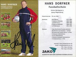 Dorfner, 2000er, 'Hans-Dorfner Fußballschule', Motiv 3