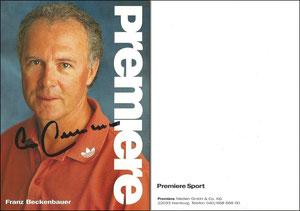 Beckenbauer, 1998, Premiere Sport, Dank an SF Michael