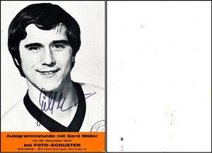 Müller, Gerd, 1970, Foto Schuster