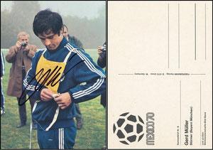 """Bermann, 1970, """"WM Mexiko '70"""", Gerd Müller"""