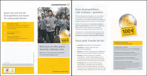DFB, 2014, Commerzbank, Klapp-Flyer
