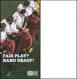 DFB, 2014, Fair Play, Dank an SF Robert