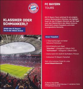 FC Bayern Tours, 2019, 'Heimspiel'