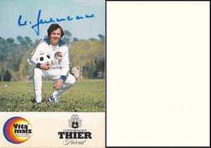 Beckenbauer, 1974, Vitamalz 'Dortmunder Thier Privat', Dank an SF Norbert