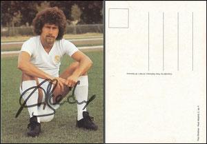 Breitner, 1976, Real Madrid, Satzkarte, sitzend