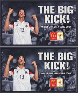 Ballack, 2004, MacDonalds 'The Big Kick', Großkarte