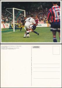 Postkarte, 2000er, Postkartenkalender Energie Kottbus, Motiv Cottbus-Bayern 1996, Motiv 1