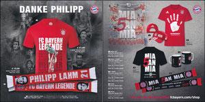 FanShop, 2017, 'Danke Philipp'