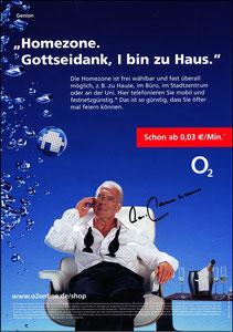 Beckenbauer, 2002, O², Werbeblatt, A4
