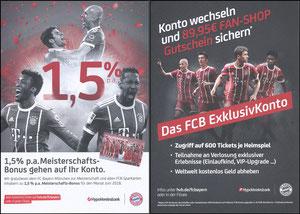 Hypovereinsbank, 2018, 'Meisterschafts-Bonus'