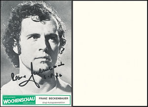 Beckenbauer, 1976, Wochenschau