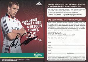 Podolski, 2006, Adidas 'Auswärtstrikot', Galeria Kaufhof