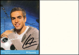 Lahm, 2009, Philipp-Lahm-Stiftung - Dometic, Dank an SF Robert
