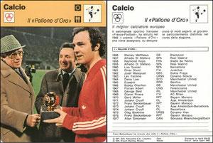 'Der goldene Ball', Italien, 1978, 833-20, Dank an SF Hermann