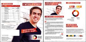 Lahm, 2015, Lotto, Deutsche Sportlotterie, Klapp-Flyer