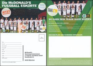 DFB, 2015, McDonalds 'Fußballeskorte'