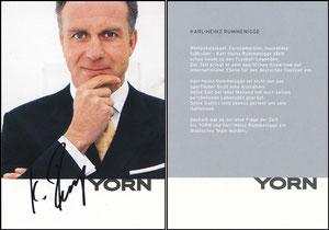 Rummenigge, 1992, Yorn