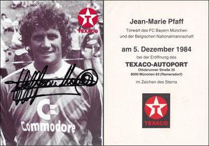Pfaff, 1984, Texaco