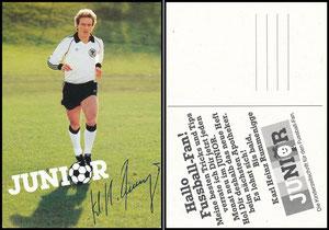 Rummenigge, 1982, 'Junior'-Apothekenzeitschrift