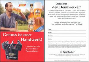 Scholl, 2011, Krombacher, Gewinnspiel 'Heimwerker'