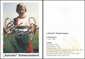 Schwarzenbeck, 1990er, Privatkarte 1