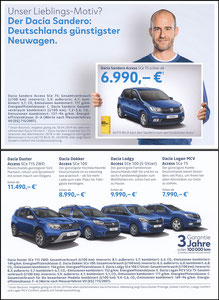 Scholl, 2019, Dacia 'Freundschaftswerung', A5, Motiv 1