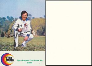 Beckenbauer, 1974, Vitamalz 'Stern-Brauerei Carl Funke AG, Essen', Dank an SF Norbert