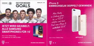 DFB, 2018, Samsung Galaxy S9, A5 Klappflyer, Variante 1