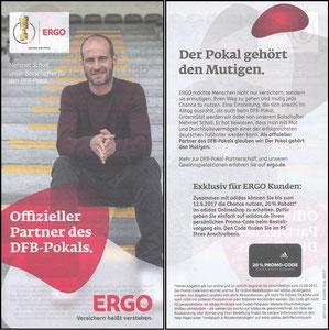 Scholl, 2017, Ergo-Versicherung, Flyer