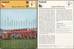 'Bayern München', Schweden, 1977, 47021-01-02