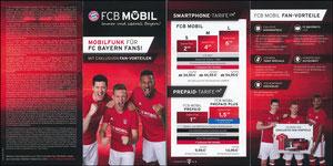 Bayern München, 2017, FCB Mobil, Klappflyer, 08'2017