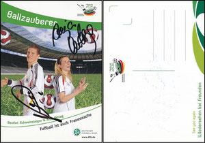 DFB, 2011, 'Ballzauberer', Schweinsteiger & Mittag