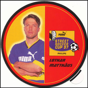Matthäus, 1997, Puma Street-Soccer-Cup, Aufkleber