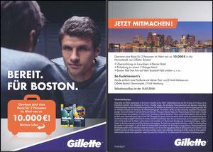 Müller, Thomas, 2018, Gillette 'Boston-Reise'