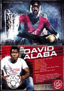 Alaba, 2014, 'Eat the Ball', Motiv 1