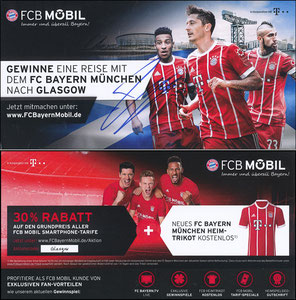 FCB Mobil, 2017, Fan-Reise 'Glasgow', 10'2017, sign. Tolisso am 28.10.2019